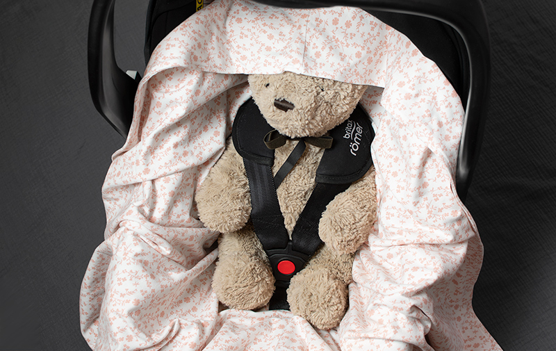 Tunnare babywrap till babyskydd och barnvagn