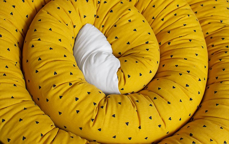 Sovorm, sovdjur som används som spjälsängsskydd och en mysig sovkompis