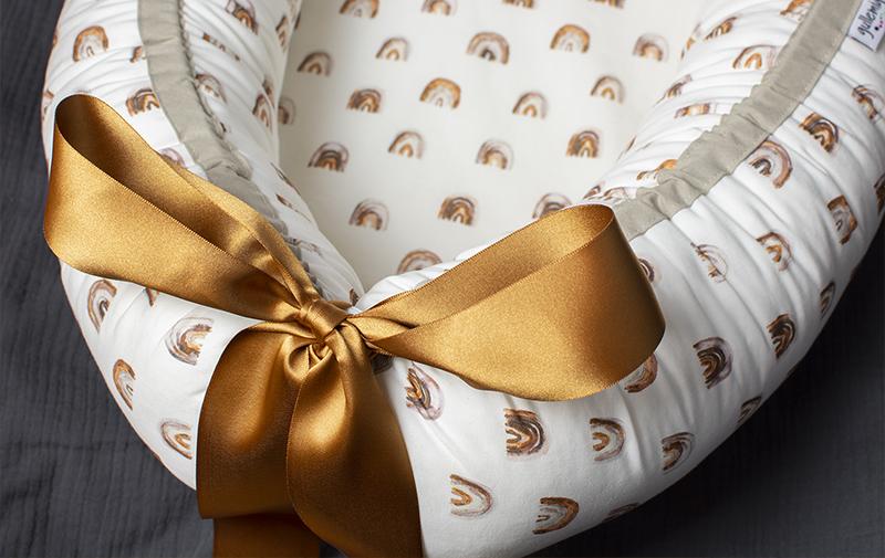Babynest med extra höga och stabila kanter